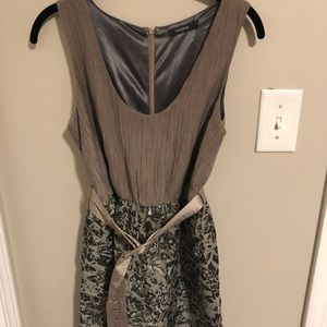 Belted dress by Theme
